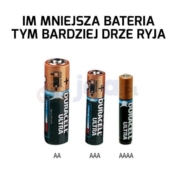 Krzyczące baterie