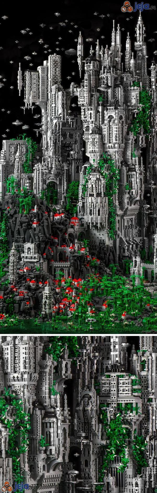 Konstrukcje z Lego - poziom boski