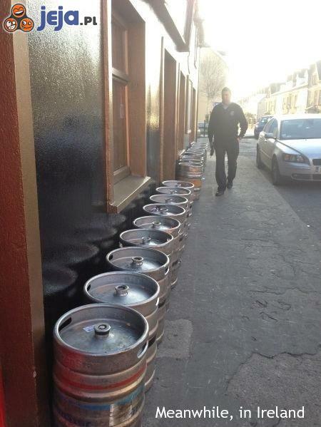 Codzienna dostawa do pubu