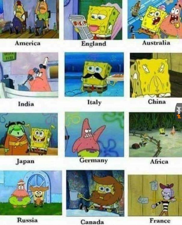 Spongebob uczy i bawi