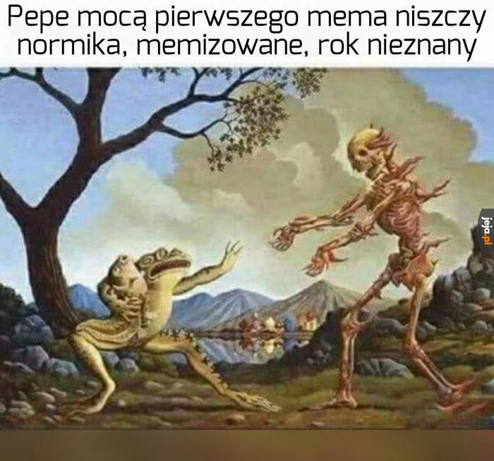POTĘŻNY PEPE