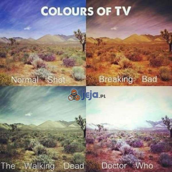 Kolory w telewizji