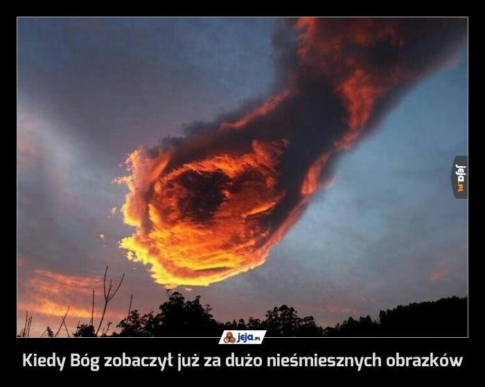 Kiedy Bóg zobaczył już za dużo nieśmiesznych obrazków