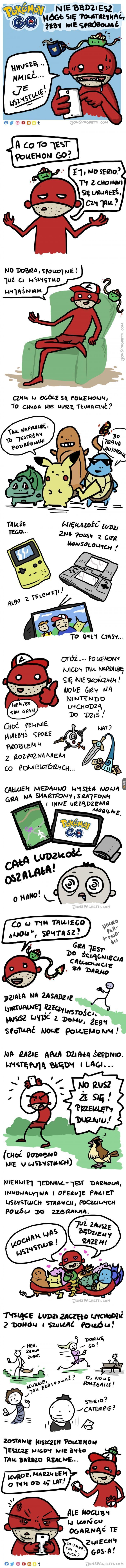 Takie tam, o Pokemon GO