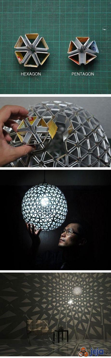 Pomysłowa lampa