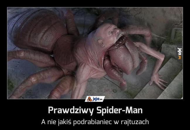 Prawdziwy Spider-Man