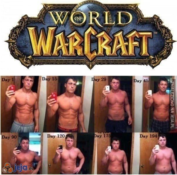 Grubnij razem z World of Warcraft