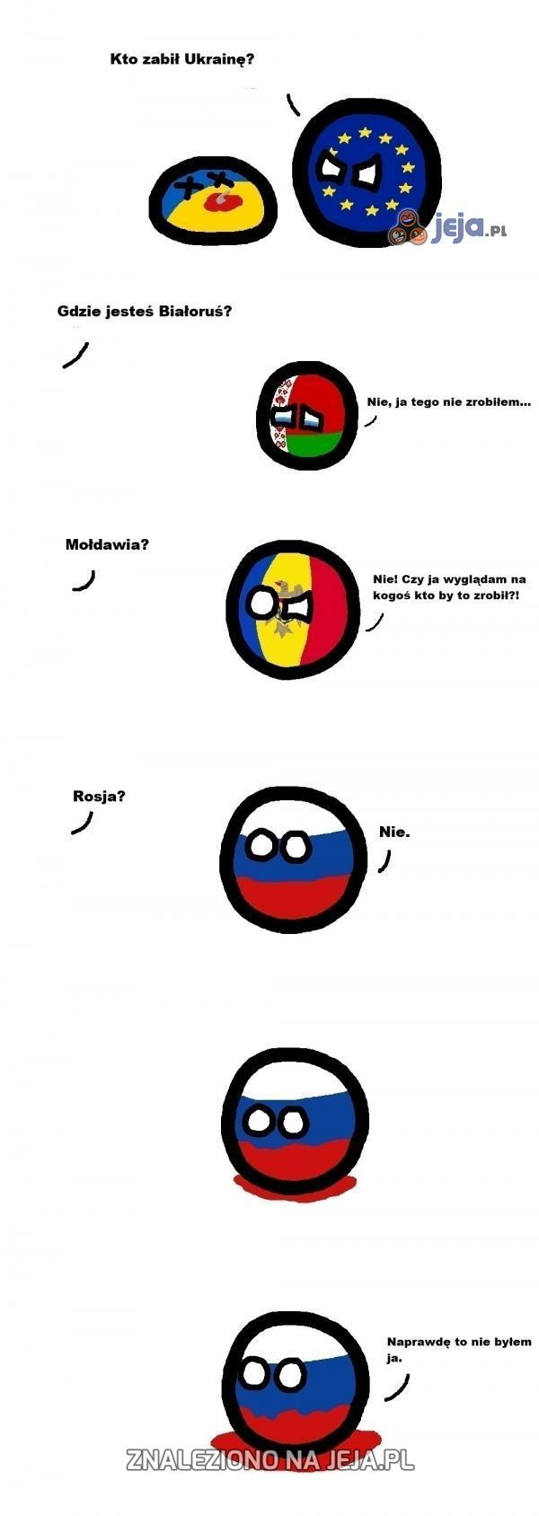 Kto zabił Ukrainę?