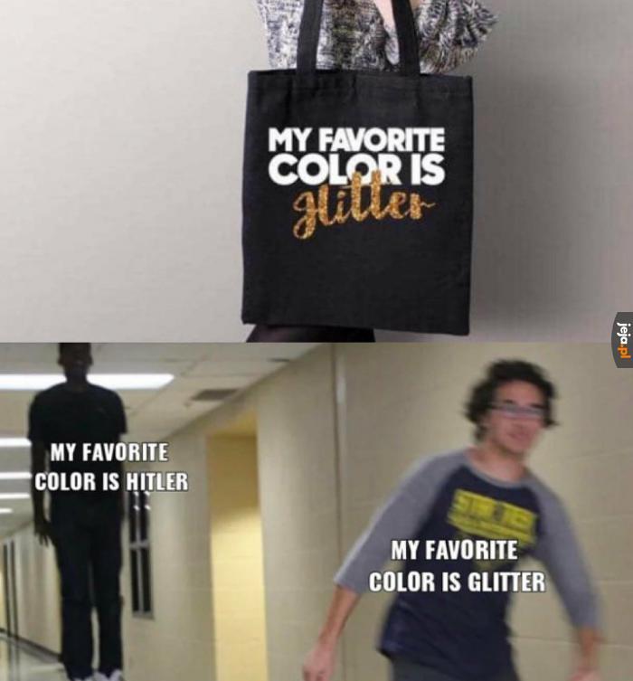 Uwielbiam ten kolor