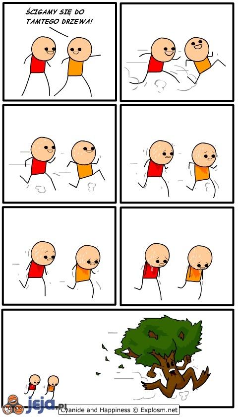 Wyścig do drzewa