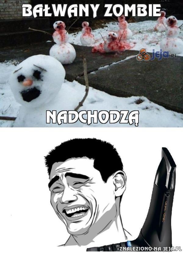 Bałwany zombie cz. 2