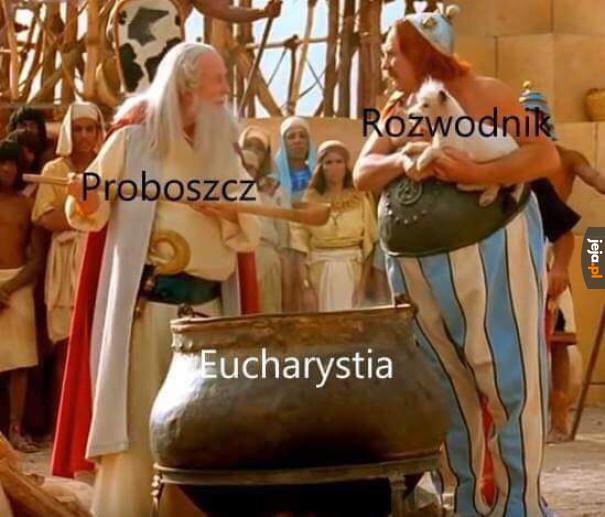 Nie ma eucharystii dla rozwodnika, bo złamał sakrament