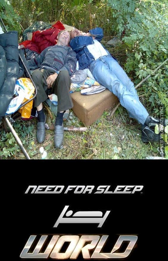 Need for Sleep: World