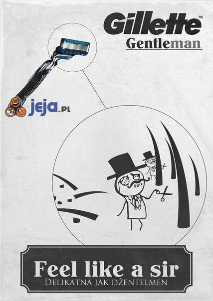 Nowa Gillette - delikatna jak dżentelmen