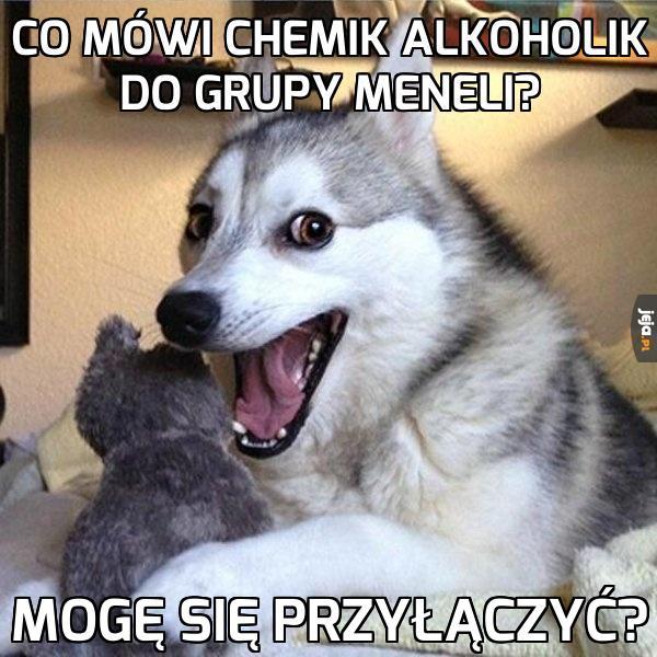 Chemik i grupa alkoholików