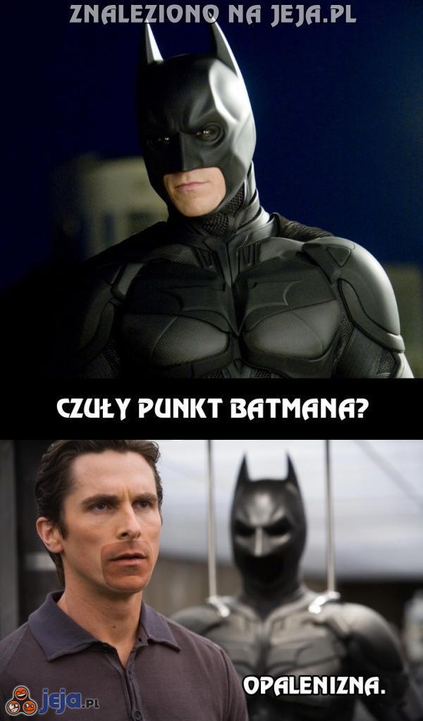 Czuły punkt Batmana