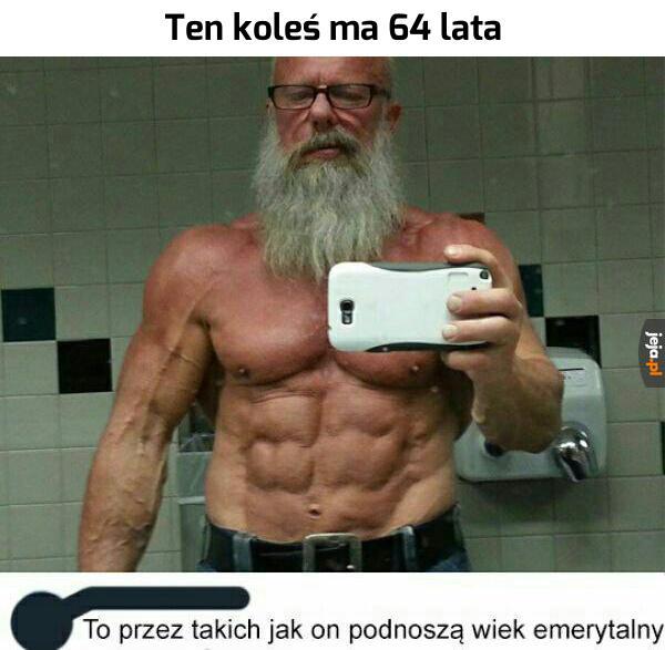 Zwolnij, dziadku