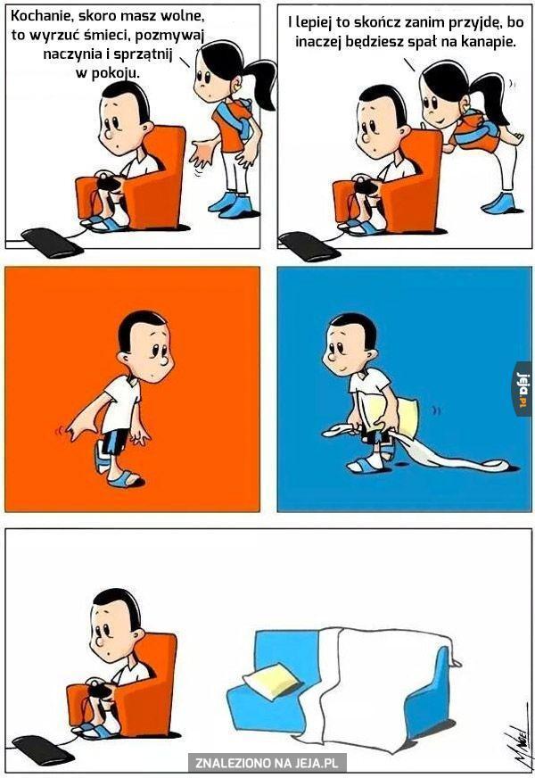 Domowe obowiązki