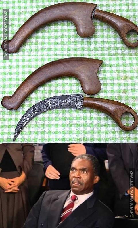 Bardzo niebezpieczne narzędzie...