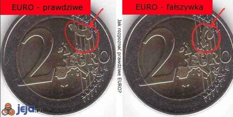 Jak rozpoznać EURO?