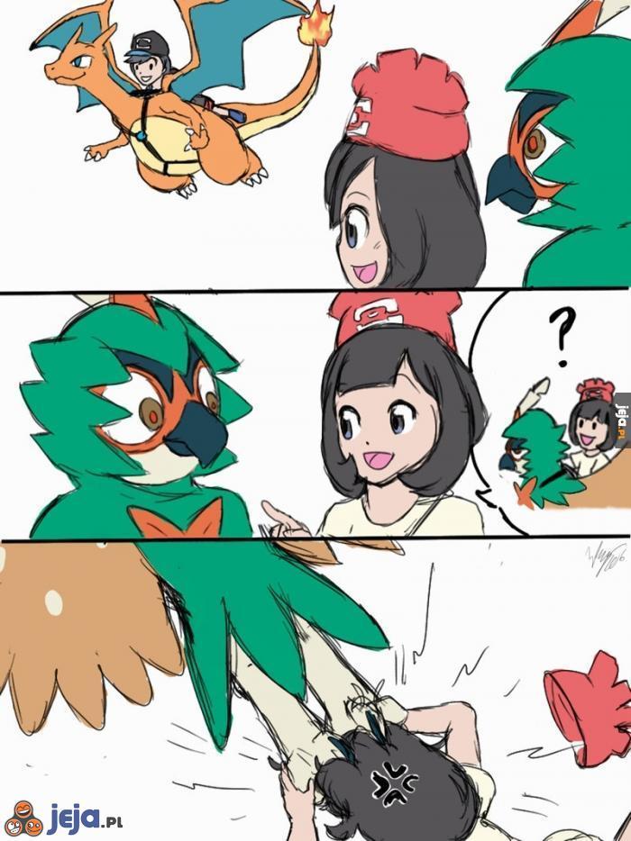 Latanie w pokemonach
