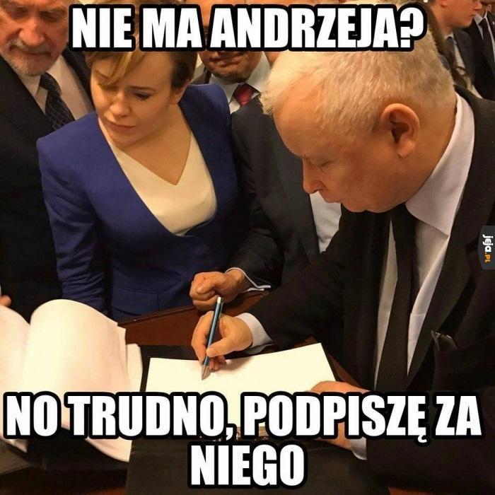 Nieobecny Andrzejek