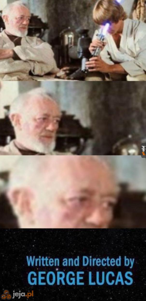 Luke, co ty...? O BOŻE!