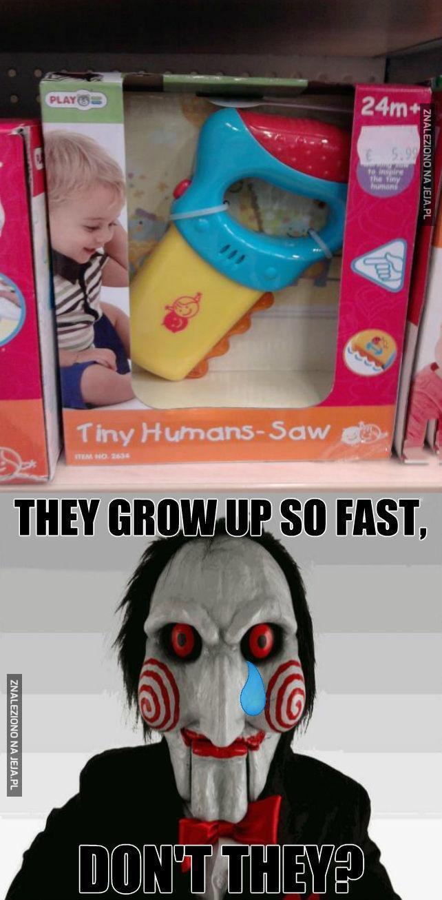 Tak szybko dorastają
