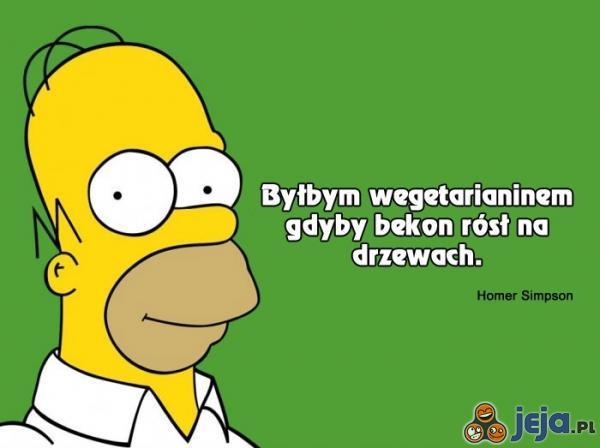 Homer o wegetarianiźmie