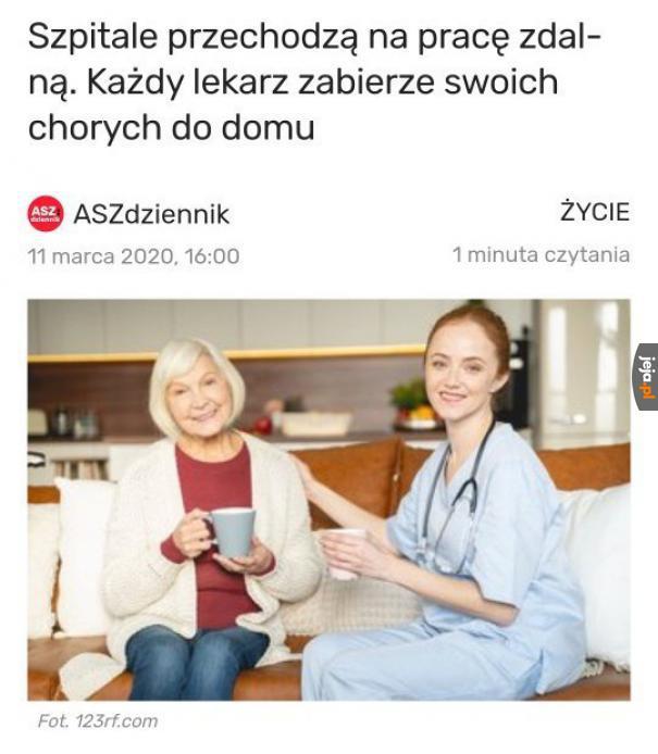 Służba zdrowia uratowana
