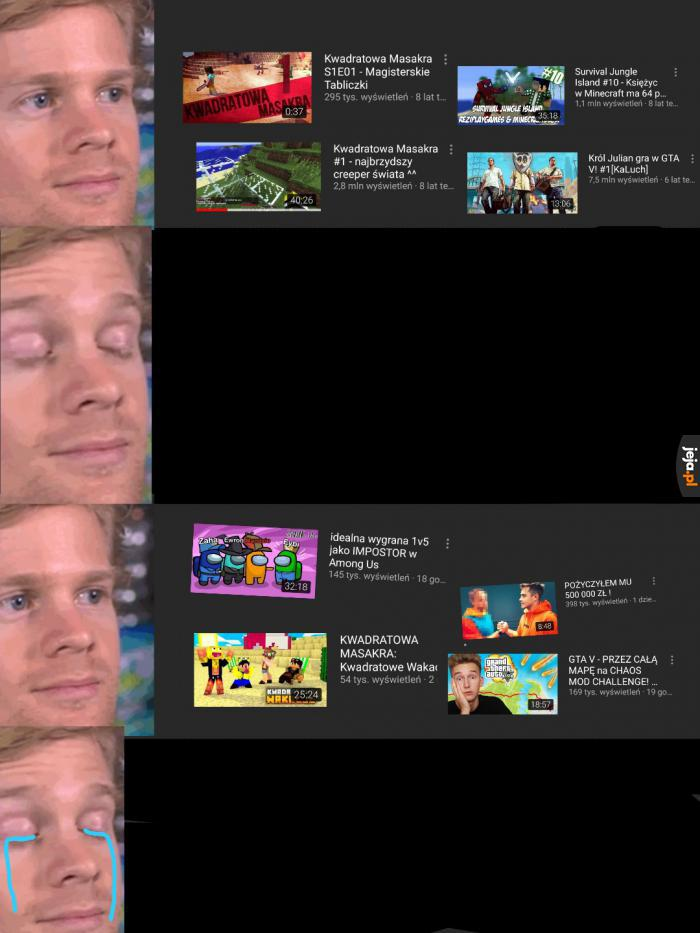 YouTube szybko się zmienia