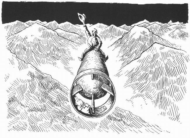 Samobójstwa zajączka: Zajączek i człowiek rakieta