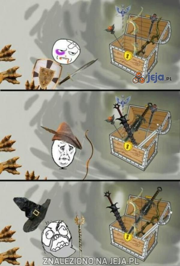 Gdy gram w grę RPG