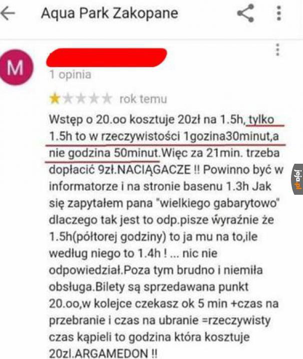 W Polsce to tylko szukają okazji, by oszukać człowieka, co za kraj...