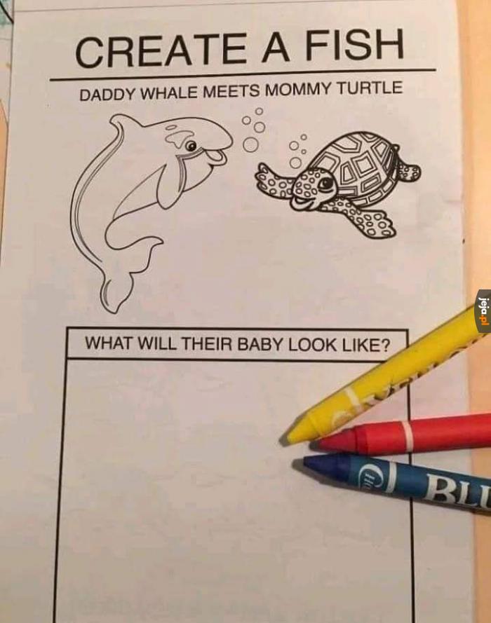 Biolog płakał, jak rysował