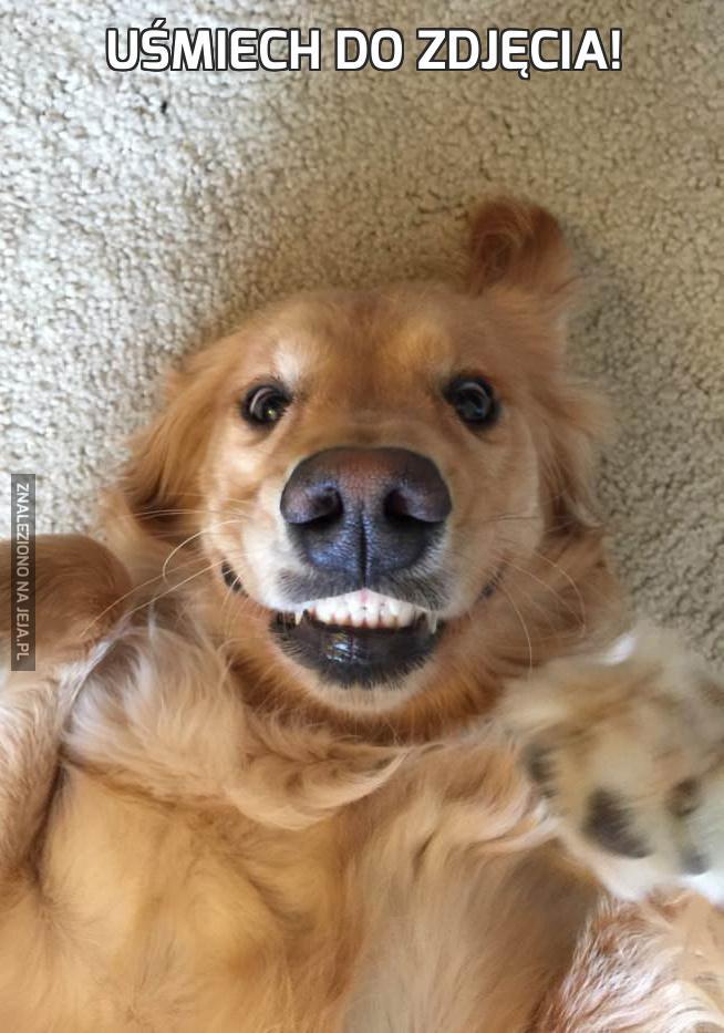 Uśmiech do zdjęcia!