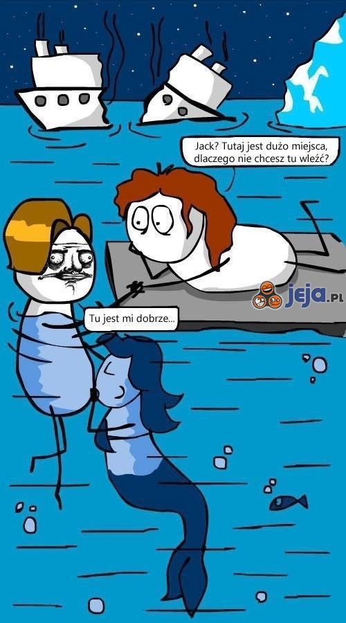 Dlaczego Jack utonął