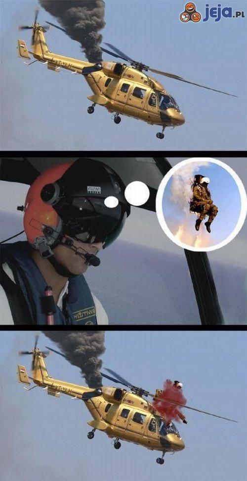 Katapultowanie z helikoptera