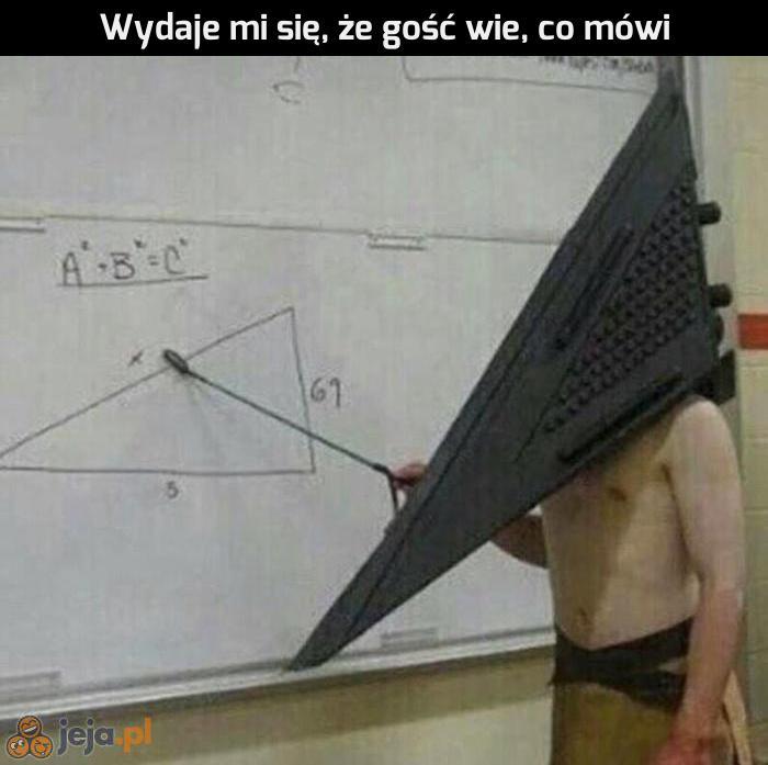 Nauczyciel geometrii