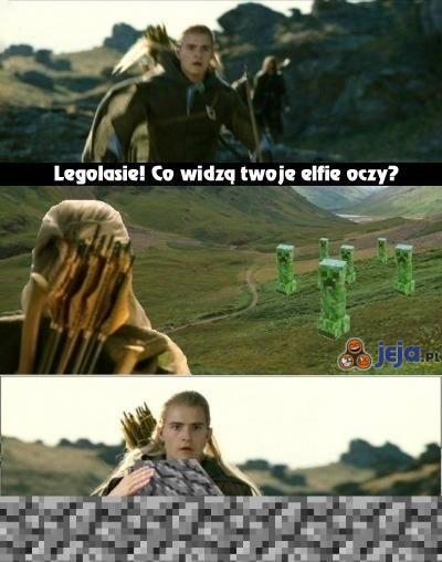 Legolas wie jak się bronić