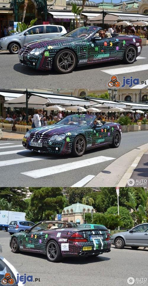 Samochód fana PAC-mana
