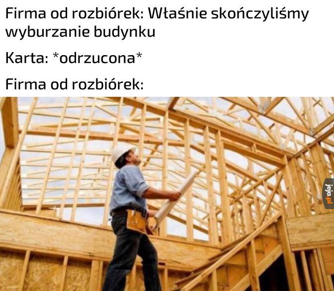 No to budujemy