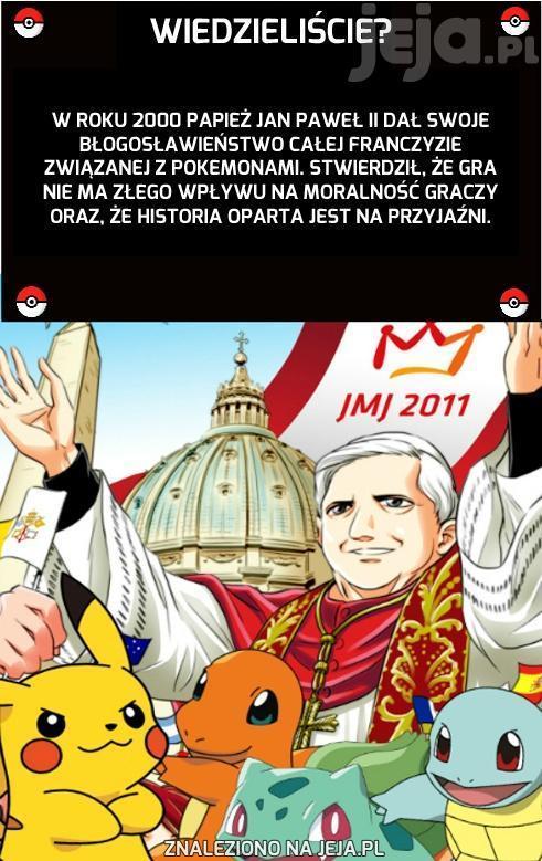 Jan Paweł II i Pokemony