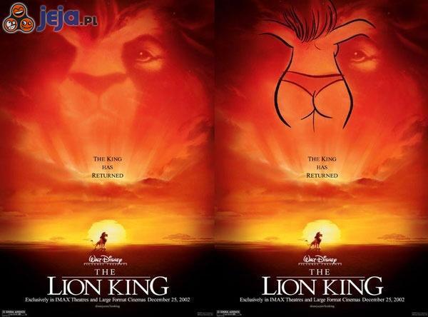 Król Lew - ukryty rysunek