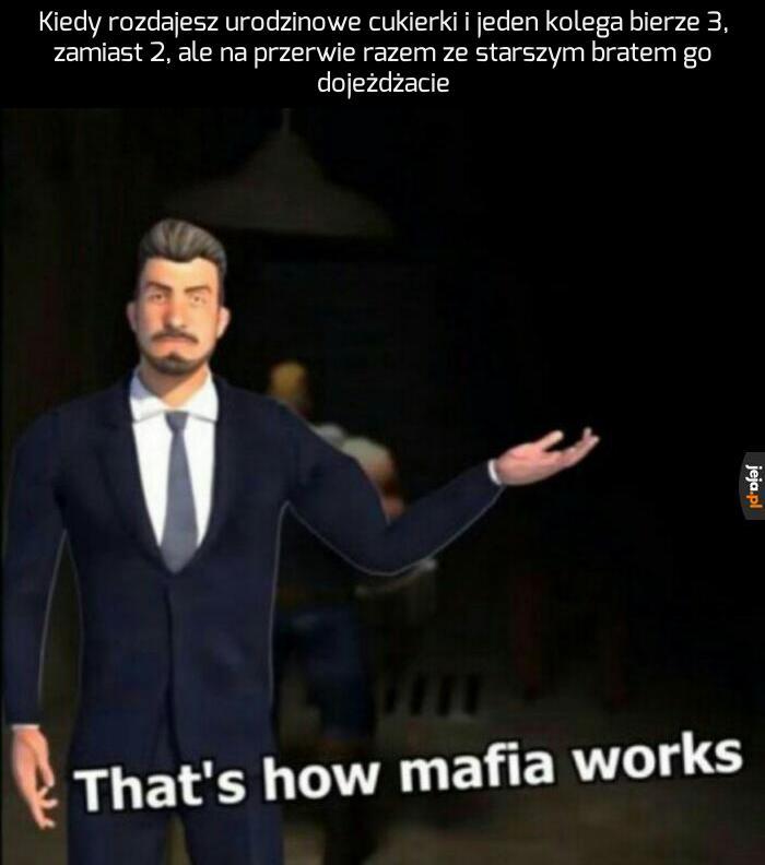Szkolna mafia
