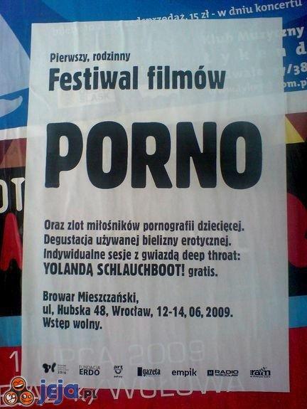 Rodzinny festiwal filmów