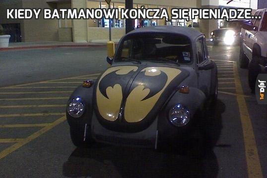 Kiedy Batmanowi kończą się pieniądze...