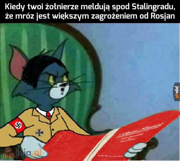 Hans, kto u nas odpowiada za logistykę?
