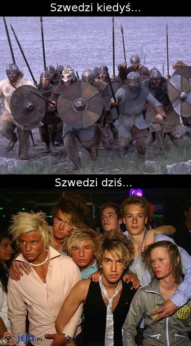 Szwedzi kiedyś i dziś