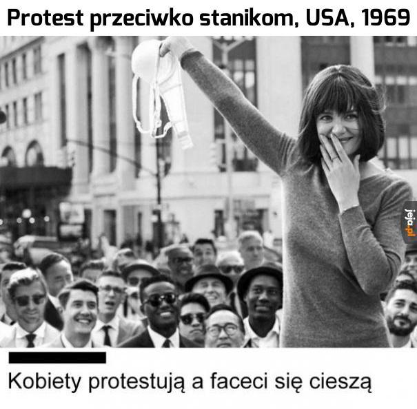 To przeciw komu ten protest, tak właściwie?